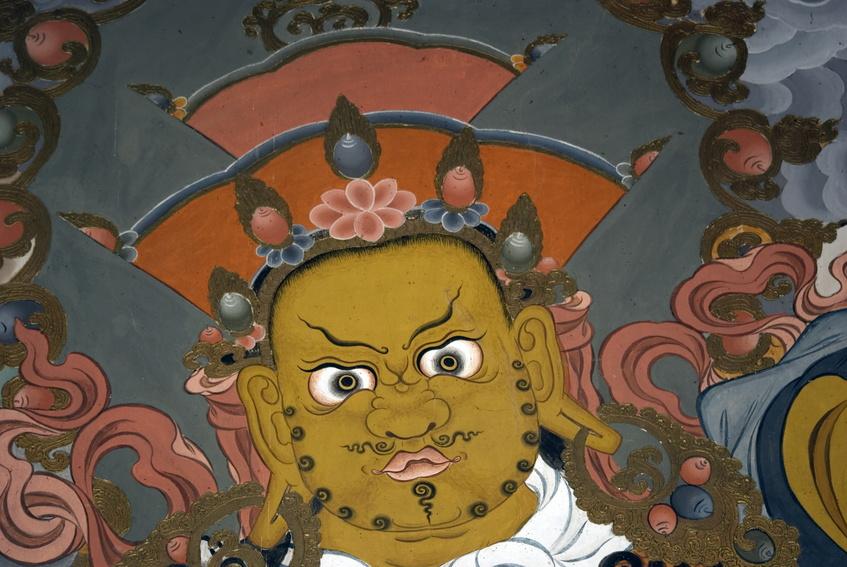 Namtose, the Northern Gold King, Simtokha, Bhutan