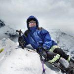 Christiane Z. aus G. auf dem Island Peak April 2012