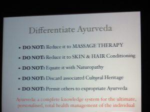 Ayurveda mal anders zeigen