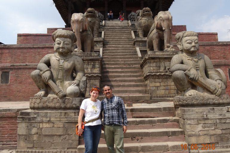 Helambu-Trek startet in Kathmandu
