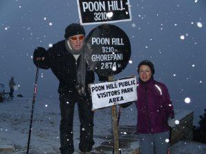 Poon Hill im Schnee