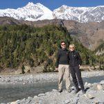 Kali Ghandaki auf dem Jomsom-Mukthinath - Trek