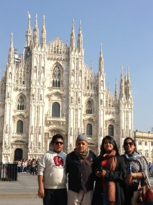 3 Generations in Milan