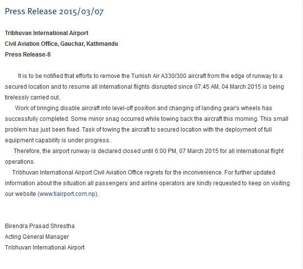 Press release Airport 7.3. 12 Uhr
