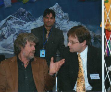 Reinhold Messner auf der CMT 2016