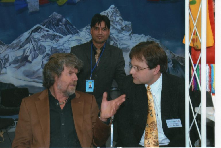 Reinhold Messner in Deutschland