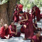Mönche im Sera - Kloster