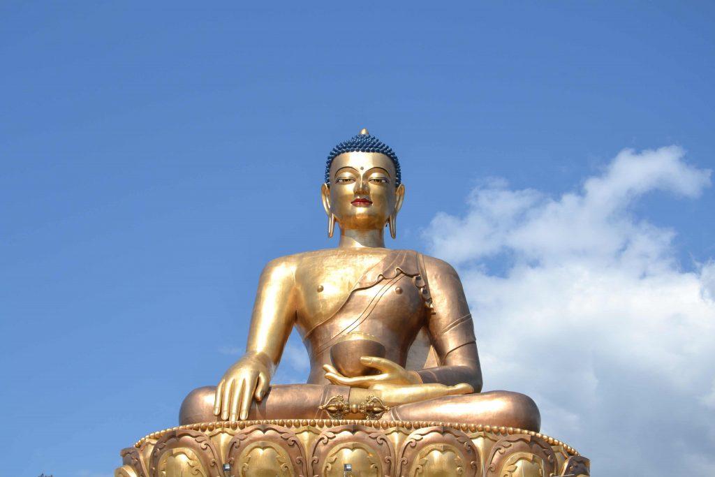 Buddha-Statue in Timphu