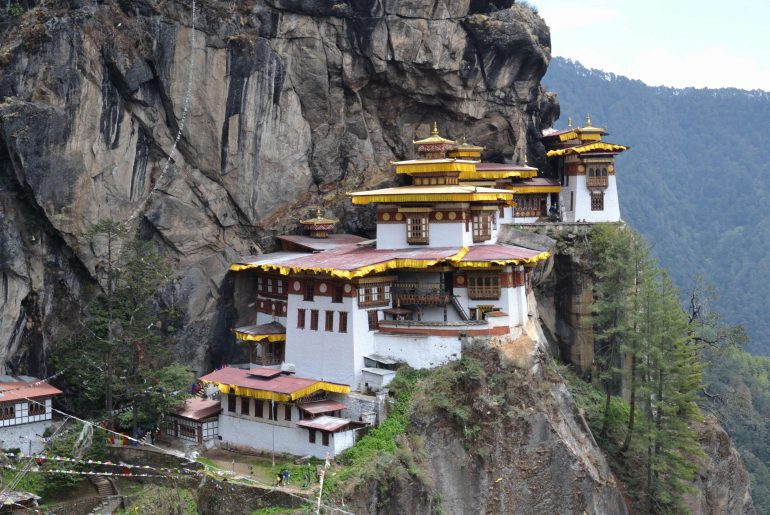 Das Tigernest - Kloster in Bhutan