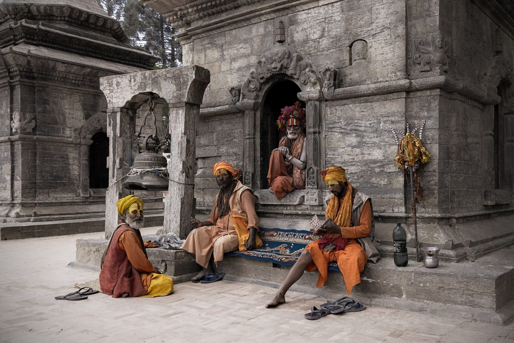 Sadhus in Pashupathinath, Copyright Stephan Brusius, Esslingen