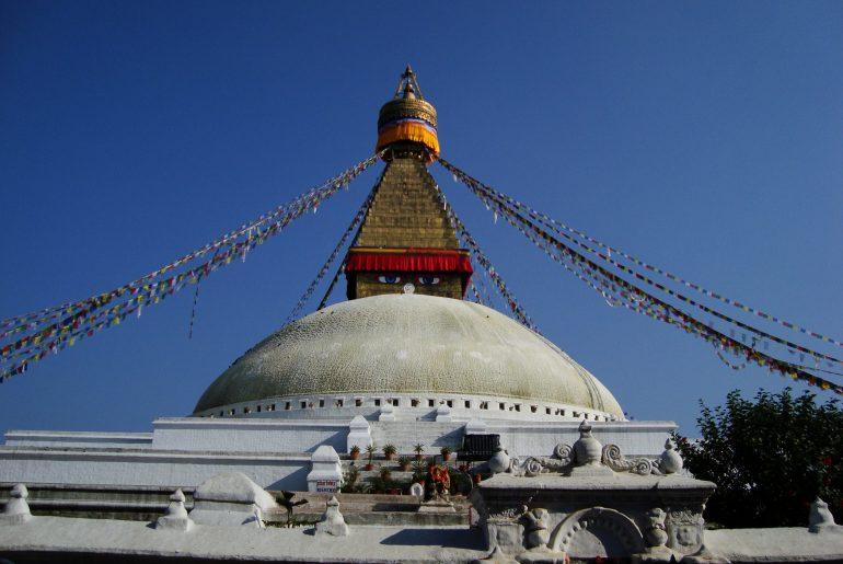 Boddhanath wird auch im Royal Trek besucht