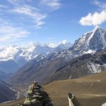 Everest Base Camp Trek, Sicht auf das Khumbu - Tal